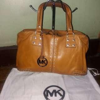 Classic vintage original Michael kors mk leather bag