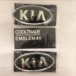 Emblem KIA all new sportage 2014
