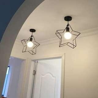 🚚 現貨餐吊燈復古工業風吊燈標價是單燈價