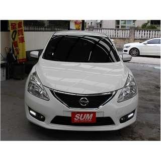 2013 Nissan_Big Tiida_1.6_白