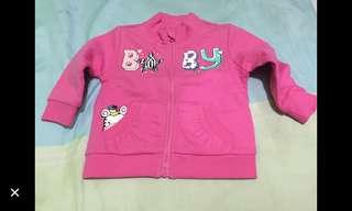 jaket chicco size 6 bulan