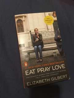 原文書 享受吧 一個人的旅行 Eat Pray Love