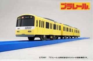 Tomica Plarail 新1000形 黃色