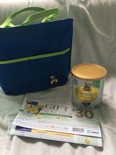 Similac 2-FL Stage 2 400g with voucher and bag