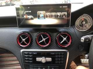 Benz cls , a250 大屏,安卓系統,10.2寸,usb gps