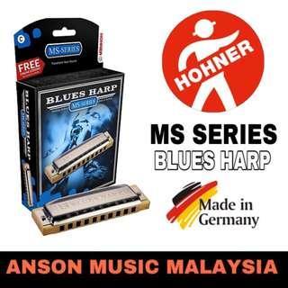 Hohner Blues Harp MS Series Harmonica, Key of C