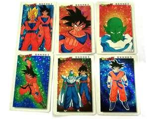 Vintage collectible DRAGONBALL Z 🌿Mint condition! RM15 per card