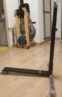 Bicycle stand for tight spaces