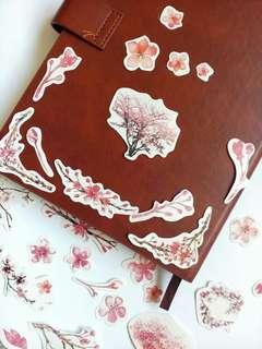 20pcs Cherry Blossoms Sakura Flower Deco Sticker