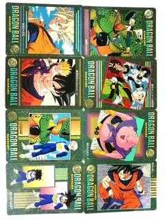 Vintage collectible BANDAI 1995 collection; DRAGONBALL Z 🌿Mint condition! RM15 per card