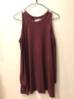 Shoulder-less Abercombie & Fitch Dress