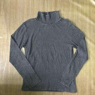 Stripes turtleneck
