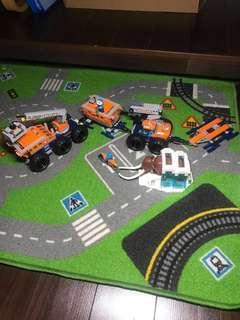Compatible Lego CITY 60195 Arctic mobile exploration base