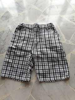 4t Kennethcole Reaction 1-3 years old Boy Checkered Short Pant