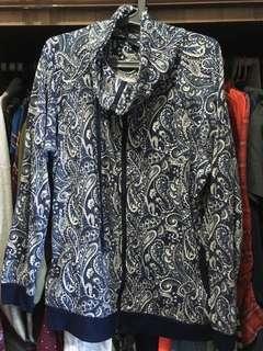 CITIMAX | Turtleneck Paisley Printed Jacket
