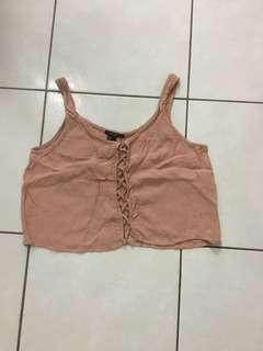 [BN] Forever 21 Pink Crop Top