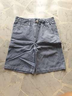 Cotton On Boy Blue Checkered Short Pant