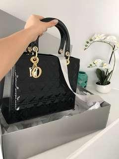 Brand new large Dior hand bag