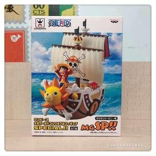 日本景品 BANPRESTO 海賊王 ONE PIECE WCF MG SP 烈陽號 路飛 (日版)