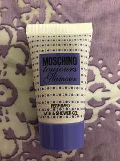 包郵 Moschino body wash 25ml