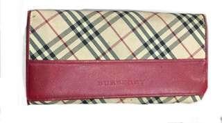 Long wallet burberrys