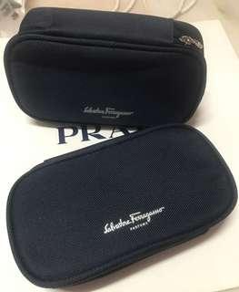 Salvatore Ferragamo airlines parfums pouch