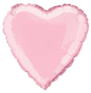 "24"" Foil Heart Helium Balloon"