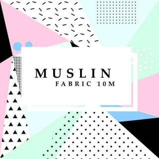 KAIN BLACU 10M (MUSLIN) - TAKE ALL