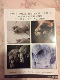 Individual Determinants of Health and Human Behaviour 7th Edition