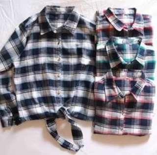 Flanel Style Top