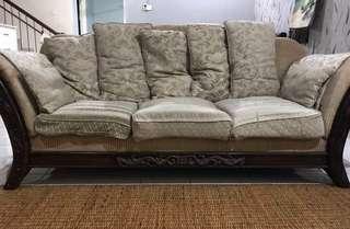 3+2+1 English Contemporary Sofa
