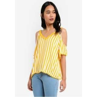 Cotton on The cold shoulder top