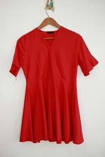 Kimono Red Dress