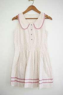 Pink Polka Dress