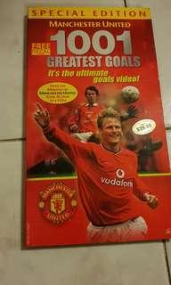 Manchester United 1001 Greatest Goals DVD