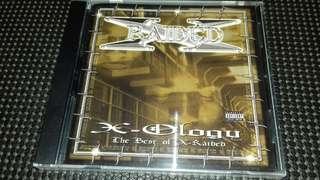 Xi Raided X ology original USA pressing cd sealed