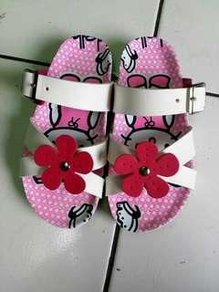 Sandal anak custom sahwester