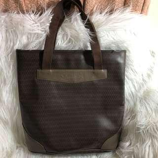 Vintage Mario Valentino Coated Canvass Tote Bag