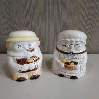 🚚 【居家飾品】陶瓷娃娃 小物收納
