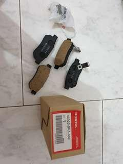 Honda City brake pads - original
