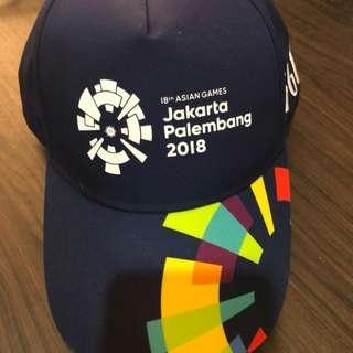 NEW - Topi Resmi Volunteer Asian Games 2018