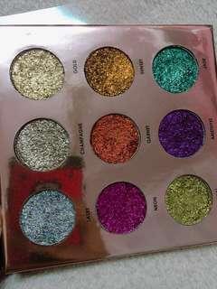 focallure glame glitter eyeshadow