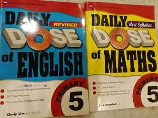 P5 daily dose English and maths