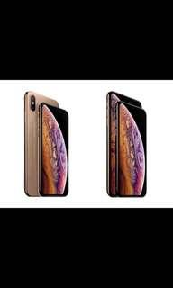 IPhone xs or xs max (256GB)