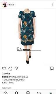 DRESS BATIK RATIN