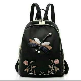 [ READY STOCK ] DRAGONFLY ARTIST SHOULDER BACKPACK