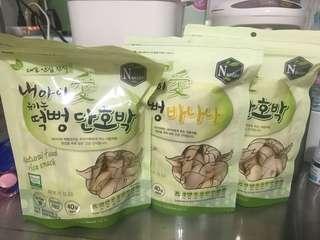 🚚 餅乾 韓國米餅(三包150)