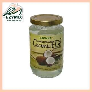 RADIANT Organic Extra Virgin Coconut Oil 350ml