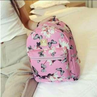[ READY STOCK ] CUTE FLORAL BACKPACK