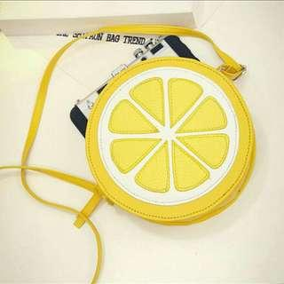 [ READY STOCK ] JUICY LEMON SLINGBAG